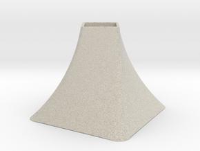 Vase Mod 004 in Natural Sandstone