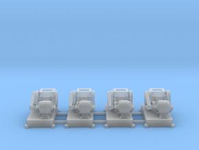 Steinbrecher mit E-Motor-Antrieb (V8) 4erSet TT 1: in Smooth Fine Detail Plastic
