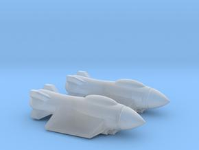 Traveller Rampart Light Fighter in Smooth Fine Detail Plastic