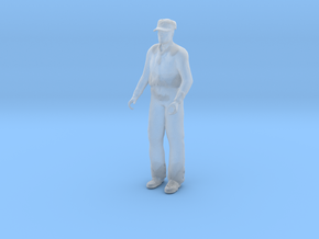 Stretcher Bearer Standing in Smooth Fine Detail Plastic: 1:48 - O