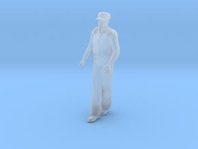 Stretcher Bearer Walking: Hands Forward in Smoothest Fine Detail Plastic: 1:64 - S