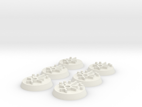 Sci Fi OBJ markers print in White Natural Versatile Plastic
