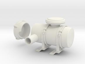 Air-filter-unit-b in White Natural Versatile Plastic
