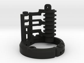 Graflex2.0 - Master Chassis - 2/7 Shell 1 in Black Premium Versatile Plastic