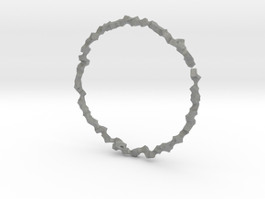 Bracelet of Cubes No.1 in Gray Professional Plastic