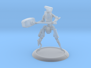 V-I-Tron : 40mm Base ; WarMachine Ready in Smooth Fine Detail Plastic