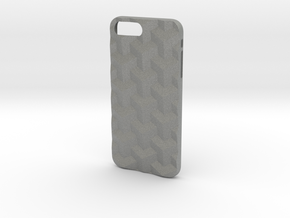 iPhone 7 & 8 Plus case_Cube in Gray Professional Plastic