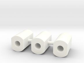 CFTBL Snackbar Mod v2 Post set in White Processed Versatile Plastic
