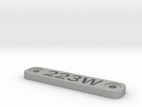 Caliber Marker - Mlok - 223Wylde in Aluminum