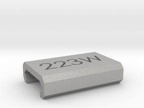 Caliber Marker - Picatinny - 223Wylde in Aluminum