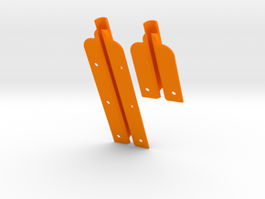 "J27 & J80 for  9"" slot (82mm + 145 mm) MastGate in Orange Processed Versatile Plastic"