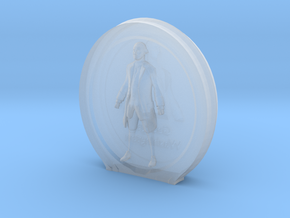 Cosmiton M George Washington - 20 mm in Smooth Fine Detail Plastic