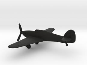 Hawker Hurricane Mk.IID in Black Natural Versatile Plastic: 1:160 - N
