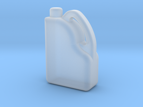 Modern Oil Bottle / Can in Smooth Fine Detail Plastic