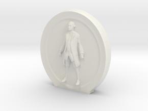 Cosmiton Fashion M - George Washington - 60 mm in White Natural Versatile Plastic