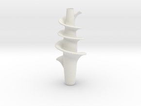 Vase 123KB Redux in White Natural Versatile Plastic