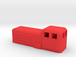 Vulcan Foundry in Red Processed Versatile Plastic