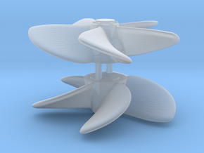 ASD 2810 MKI - Propeller (2 pcs) in Smooth Fine Detail Plastic