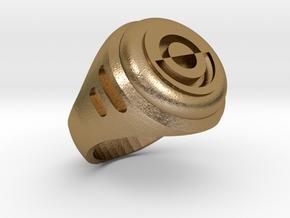 Crimson Dawn Signet Ring Qi'ra Dryden Vos Maul in Polished Gold Steel