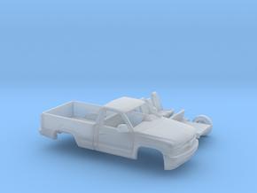 1/160 1999-02 Chevrolet Silverado1500 RegCab Kit in Smooth Fine Detail Plastic