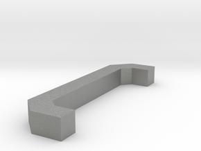 Motorway 3 Pillar custom scale in Gray PA12