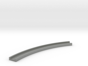 Motorway 1 Curve 1:1000 scale in Gray PA12