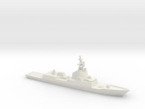 ESPS Álvaro de Bazán-class Frigate, 1/1800 in White Natural Versatile Plastic