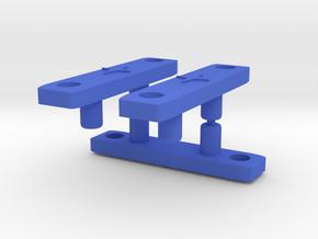 Red Falcon Wingding  in Blue Processed Versatile Plastic: Medium