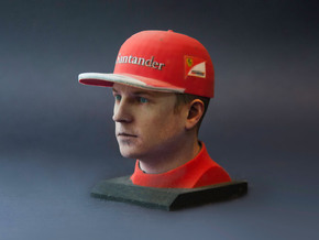 Kimi 1/4 Head Figure in Full Color Sandstone