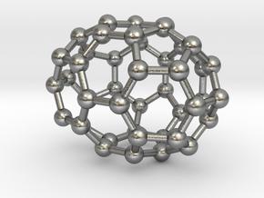 0667 Fullerene c44-39 c2v in Natural Silver