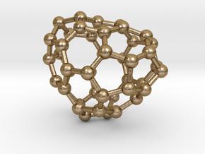 0669 Fullerene c44-41 c1 in Polished Gold Steel
