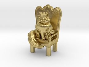 Cat Lord in Natural Brass