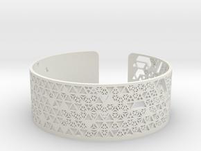 Tesselation in White Natural Versatile Plastic