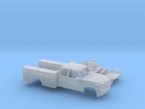 1/87 1999-02 Chevy Silverado ExtCab Utility Kit in Smooth Fine Detail Plastic