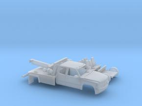 1/160 1999-02 Chevy Silverado EXTCab Wrecker Kit in Smooth Fine Detail Plastic