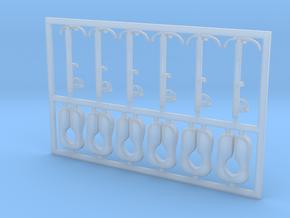 6 Stück Rettungsweste Typ-A in 1:50 mit Halter in Smooth Fine Detail Plastic