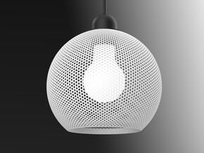 Ray Dot in White Natural Versatile Plastic
