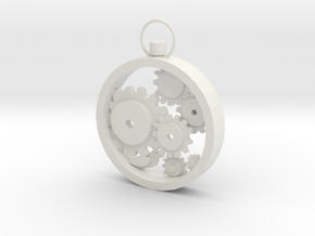 Pocket watches in White Natural Versatile Plastic
