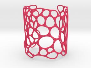 Lattice074 Cuff in Pink Processed Versatile Plastic
