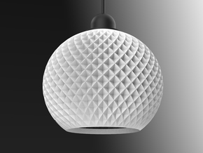 Ray Helix 1 in White Natural Versatile Plastic