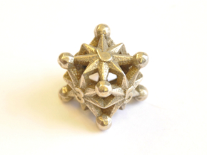 D6 Balanced - Radiant in Polished Bronzed Silver Steel