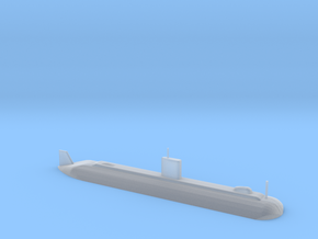 1/700 Scale USS Dolphine AGSS-555 in Smooth Fine Detail Plastic