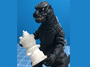 Nuclear Reactor from Godzilla 1985 in Smooth Fine Detail Plastic