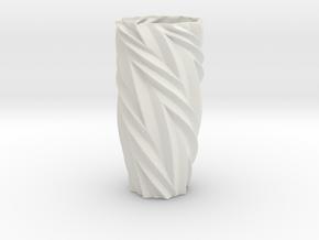 Vase 172532d Redux in White Natural Versatile Plastic