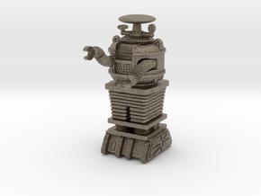 1 inch Bot-Asmb in Matte Bronzed-Silver Steel