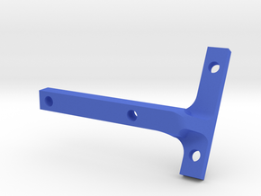 B64 'Top' Fan Mount in Blue Processed Versatile Plastic