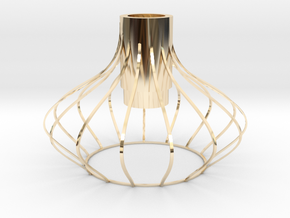 lampshade in 14k Gold Plated Brass