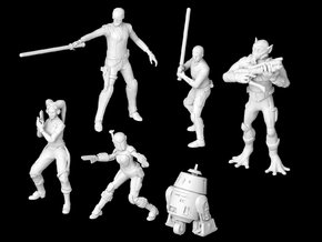 (Legion) The Ghost Crew in Smooth Fine Detail Plastic