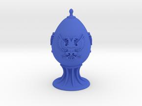 Three-Eagle Egg in Blue Processed Versatile Plastic