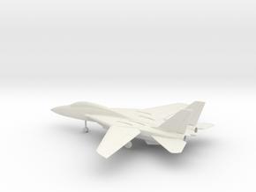 Grumman F-14 Tomcat in White Natural Versatile Plastic: 1:64 - S